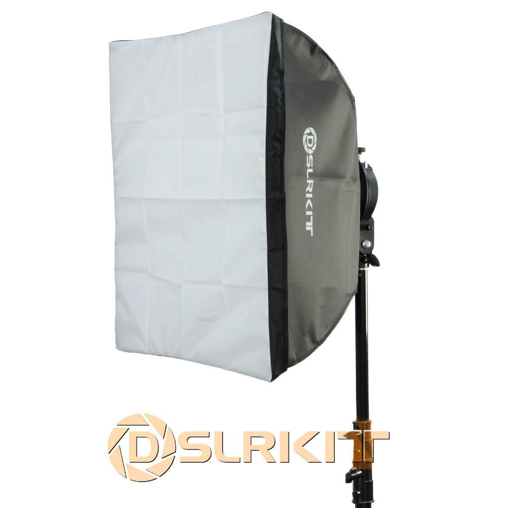 Photo Studio Softbox with Universal Mount for Mini Flash Strobe 60x60cm 24x24<br><br>Aliexpress