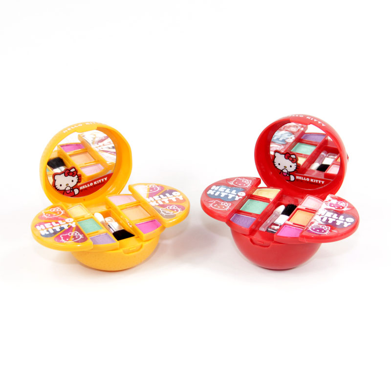Hello Kitty Hello Kitty children's fruit shape cosmetic box show special cosmetics toys(China (Mainland))