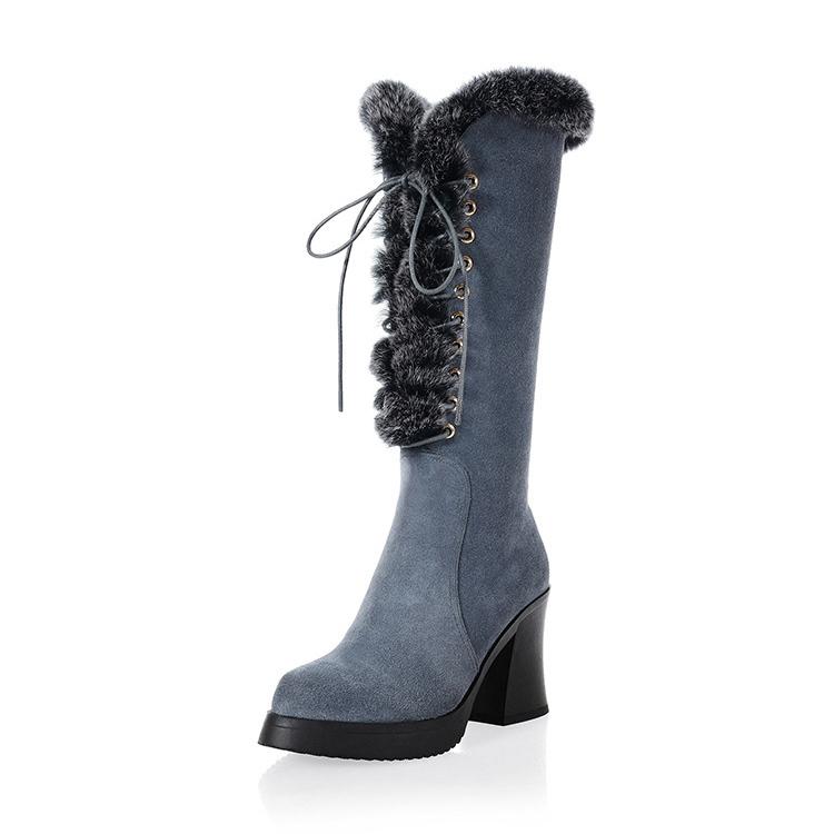 Compare Prices on Leather Gray Boots- Online Shopping/Buy Low ...