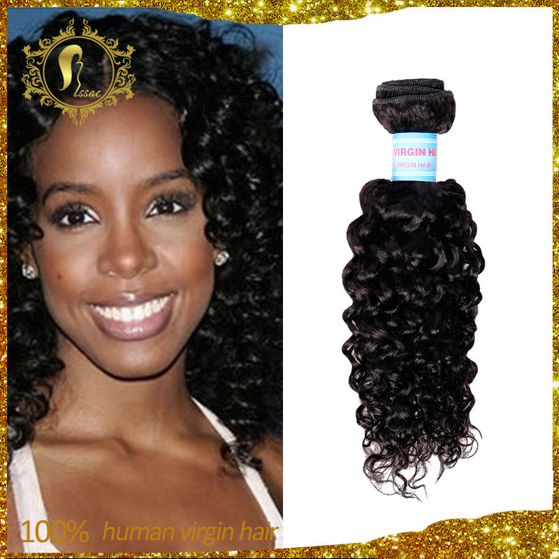 3 PCS/LOT 100% Undressed Remy Human Hair,8~30 inch Indian Curly Hair,Let people full of vitality of the hair.(China (Mainland))