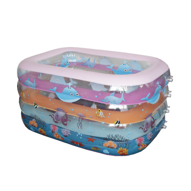 Piscinas Inflables Hot Sale Piscinas 2015 Brand Beach Inflatable Swimming Pool Toddler Baby Swim Piscine Air Mattress Piscina(China (Mainland))