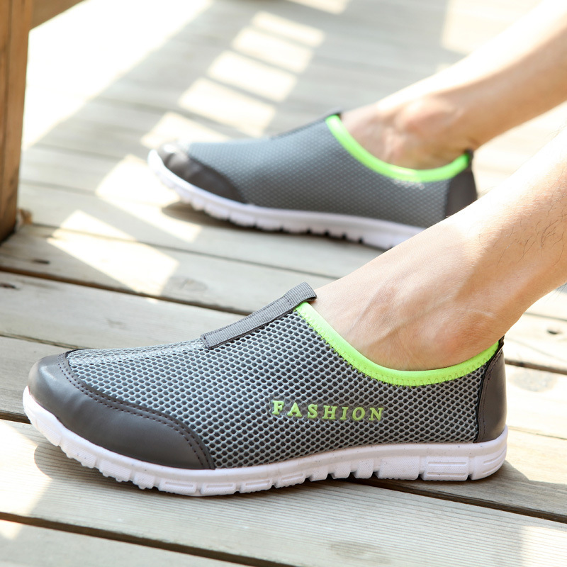 2015 New Breathable Unisex Sneakers,Brand Fashion Mesh Men Shoes Super Light Shoes Woman Casual Sport Shoes Men Net Sneakers(China (Mainland))