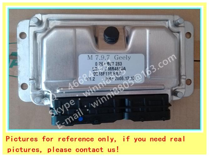 Engnine Control Unit (ECU) / For Maple car engine computer board / car pc / M7.9.7 0261B07283 LG-1/MR481QA/ 0 261 B07 283(China (Mainland))