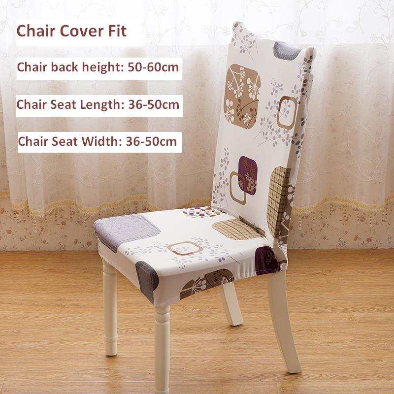 Universal Chair Cover Super Elastic Restaurant Chair Cover