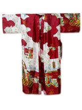 New Burgundy Chinese Lady Sexy Long Silk Robe Women Kimono Kaftan Gown Sleepwear mujer Pijama Plus Size S M L XL XXL XXXL WR041(China (Mainland))
