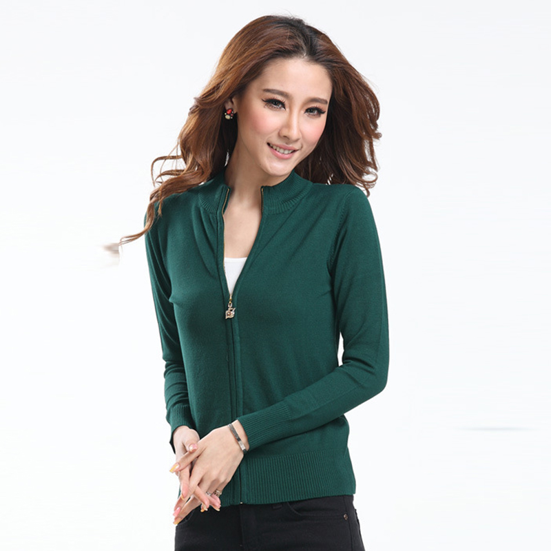 Sweaters women Female cardigans knitted spring autumn ...