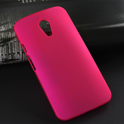 Ultra Thin High Quality PC Matte Froste snap on funda cases for Motorola G 2 II hard rubber phone funda case for Moto E6 new(China (Mainland))