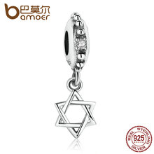 Buy BAMOER Authentic 925 Sterling Silver Polygon Pendant Charms Fit Women Bracelets & Bangles Fine Jewelry PAS082 for $6.99 in AliExpress store
