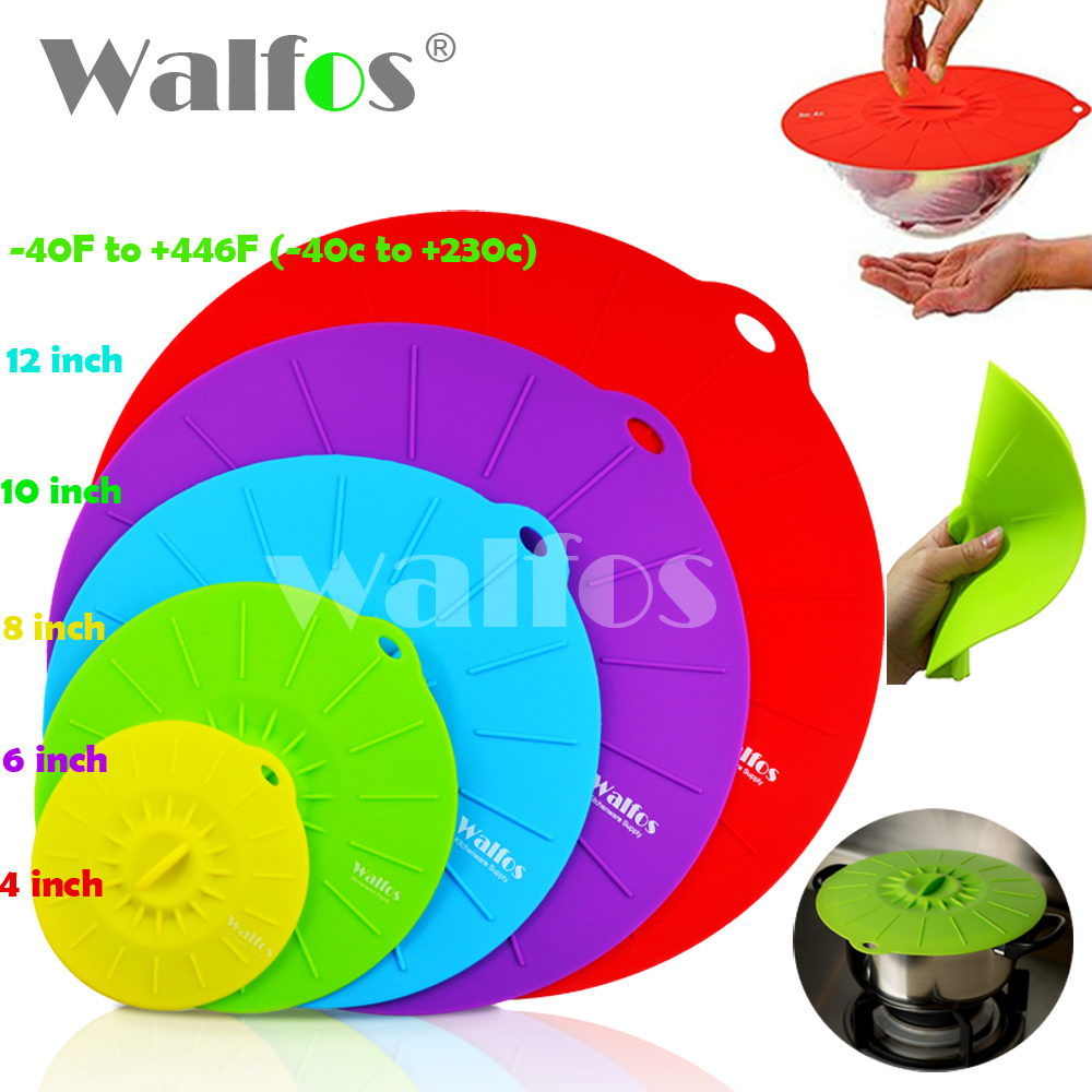 Silicone Cookware Pot Lid Cover For Pan /Pot Flower Shape Spill Stopper Cooking Tools 2016 new hot stretch silicone cover(China (Mainland))