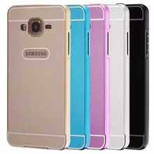 Coque Samsung J3 Case Ultra Thin Aluminum Metal Frame & PC Hard Back Cover Galaxy A7 Fundas Phone Cases - WALWORTHS Co.,Ltd store