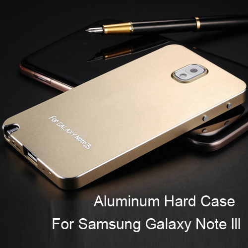New Arrival Matting Metal Surface Aluminum Bumper Case For Samsung Galaxy Note 3 III Luxury Ultrathin 9 colors 50 pcs/lot(China (Mainland))