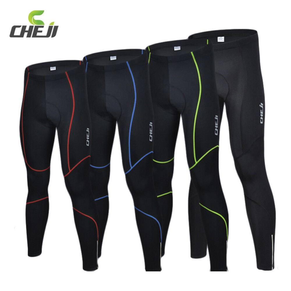 High Elasticity Road Mountain MTB Bike Long Pants 3D Gel Pads Design With Reflective Stripe Breathable Running Cycling Pants <br><br>Aliexpress