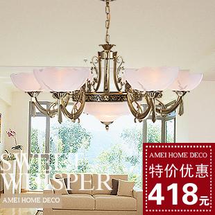 I lighting fashion modern iron pendant light living room lights restaurant lamp bedroom lamps 3