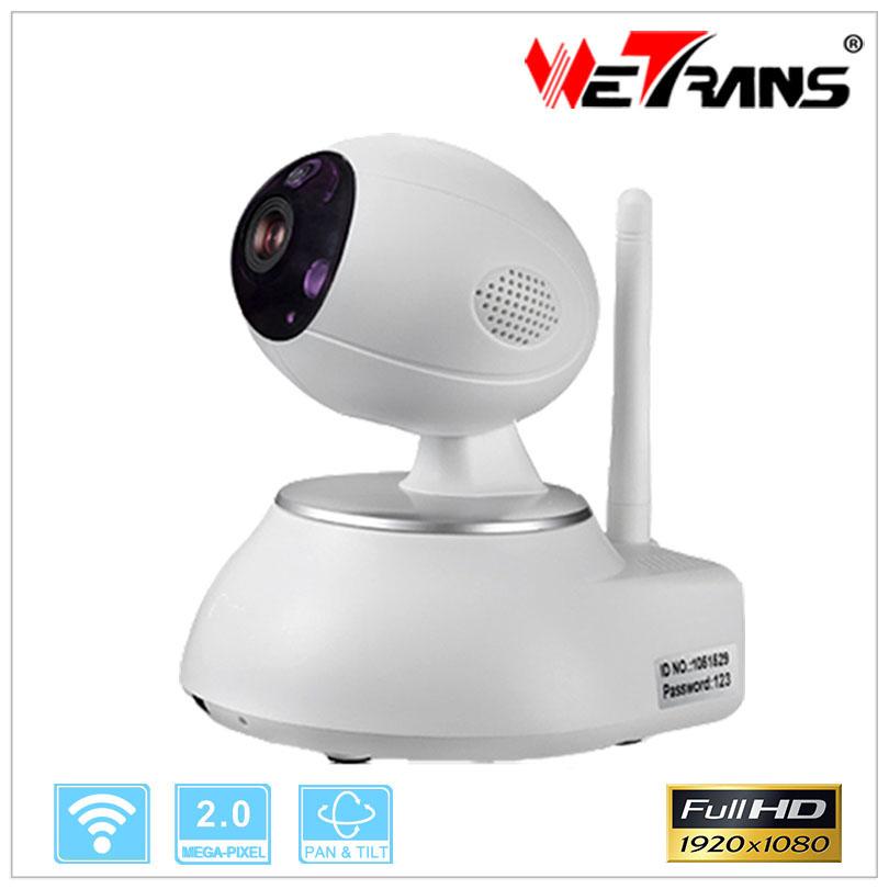 Baby Monitor Wifi Pan Tilt Alarm P2P Mobile Phone Full HD 1080P Camera Robotica Robot Camera Home Camera System Wireless(China (Mainland))