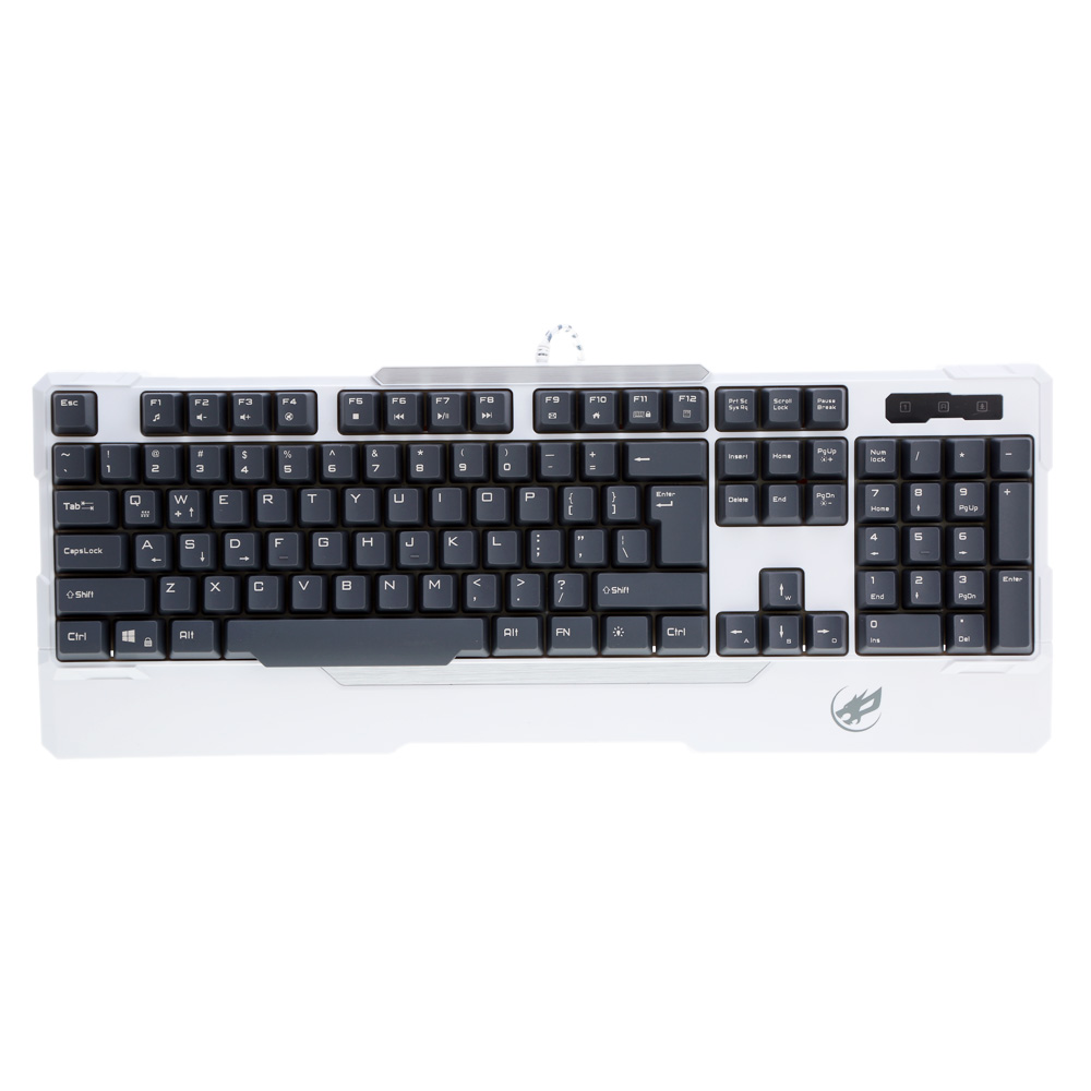 Steel Shaft Semi Mechanical Wired Mechanical Keyboard Rainbow Backlight Waterproof Gaming Keyboard for PC Laptop Gamer(China (Mainland))