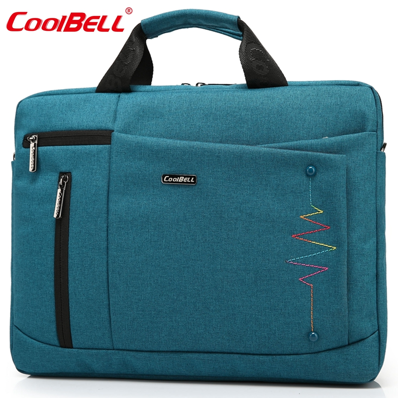 CoolBell Brand 14.4,15.6 inch Laptop Bag Men Women Notebook Bag Waterproof Computer Bag Laptop Briefcase Shoulder Messenger Bag(China (Mainland))