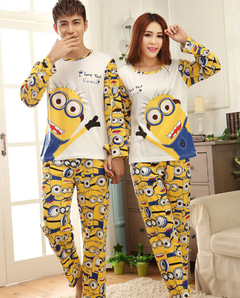 achetez en gros couple pajama sets long sleeve sleepwear mens en ligne des grossistes couple. Black Bedroom Furniture Sets. Home Design Ideas