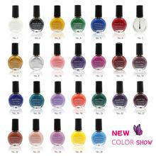 26Colors to choose 1 bottles Professional Painting Konad Nail Varnish Manicure UV Nail Polish Gel For