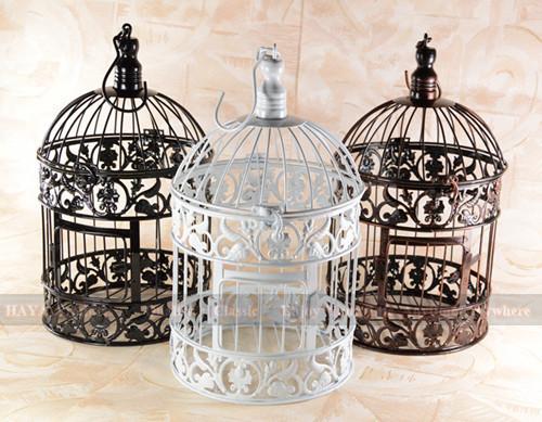 Online kopen wholesale witte decoratieve vogelkooien uit for Vogelkooi decoratie