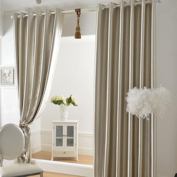 Ready made custom made balcony curtain fabrics for windows for Custom made window curtains