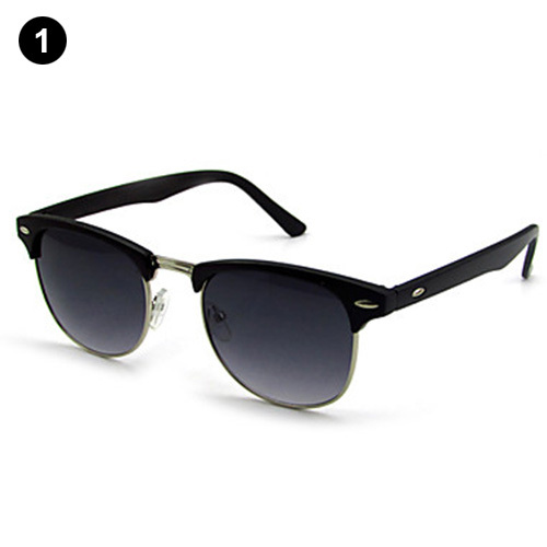 100% UV400 Wayfarer Plastic Retro Sunglasses(China (Mainland))