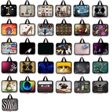 7 10 12 13 14 15 17 inch laptop bag netbook sleeve case with handle handbag computer notebook cover pouch LB-ALL1(China (Mainland))