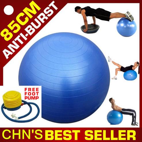 Exercise Fitness Aerobic 85cm Ball for GYM Yoga Pilates Pregnancy Birthing Swiss fitness ball(China (Mainland))