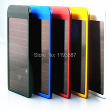 Promotion!! Quality Cell Mobile Phone MP3 MP4 Game Player 2600mAh USB Solar Charger Portable Power Bank Charger 200pcs/lot(China (Mainland))