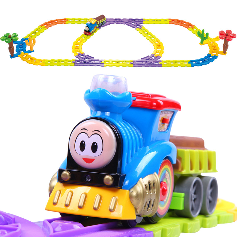 New Arrival 3088 Thomas Electric Train Track Music Toys Thomas train track electric music Kit educational toys best gift(China (Mainland))