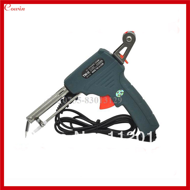 new 60w hand operate automatic send tin solder feed soldering iron gun electric heating welding. Black Bedroom Furniture Sets. Home Design Ideas