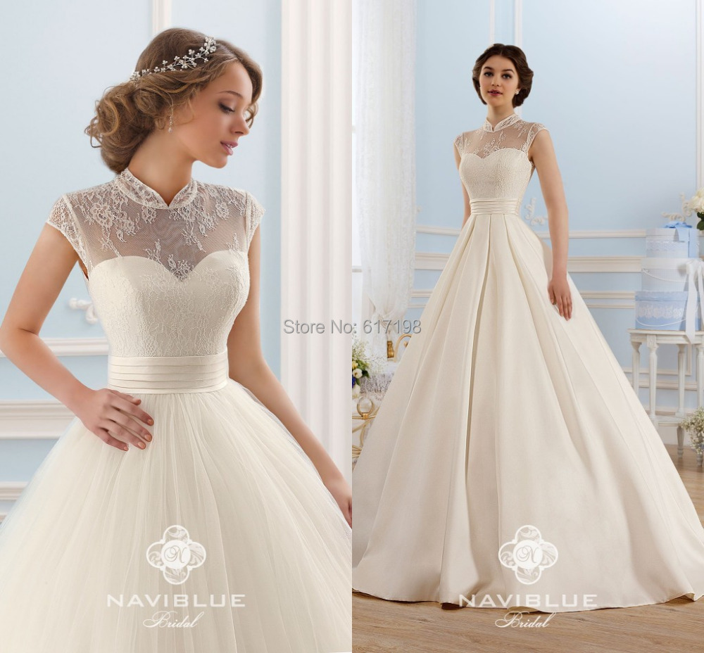 Cinderella wedding dress price ball gown high neck sexy for Floor length lace wedding dress