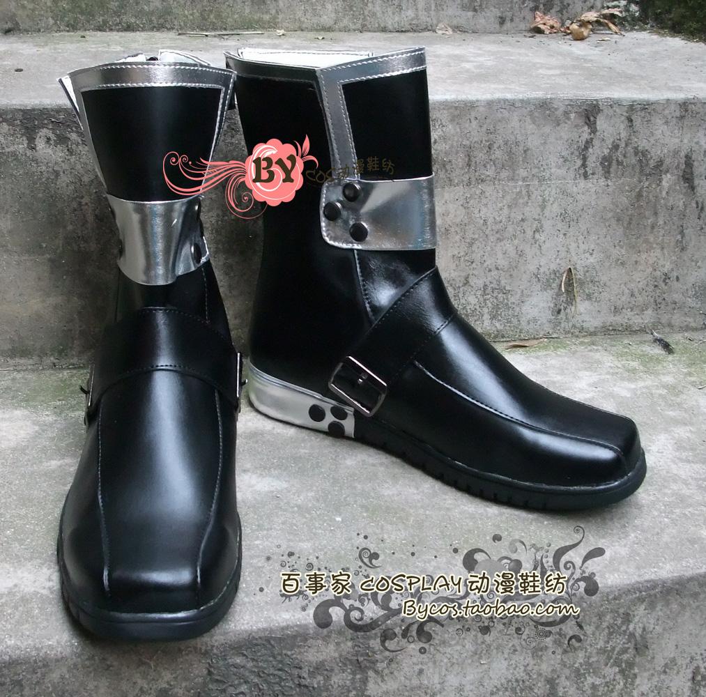 Sword Art Online Kazuto Kirigaya Cosplay Boots Shoes New<br><br>Aliexpress