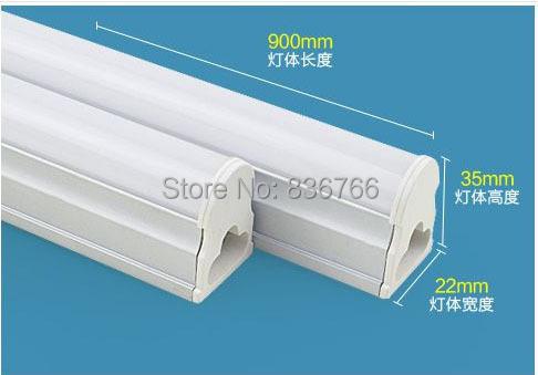 intergrated 900mm T5 led tube light,110V220V240V 10W led,SMD2835 1200ml Epistar Chip CE & ROHS Cold white/Warm white - Online Store 836766 store