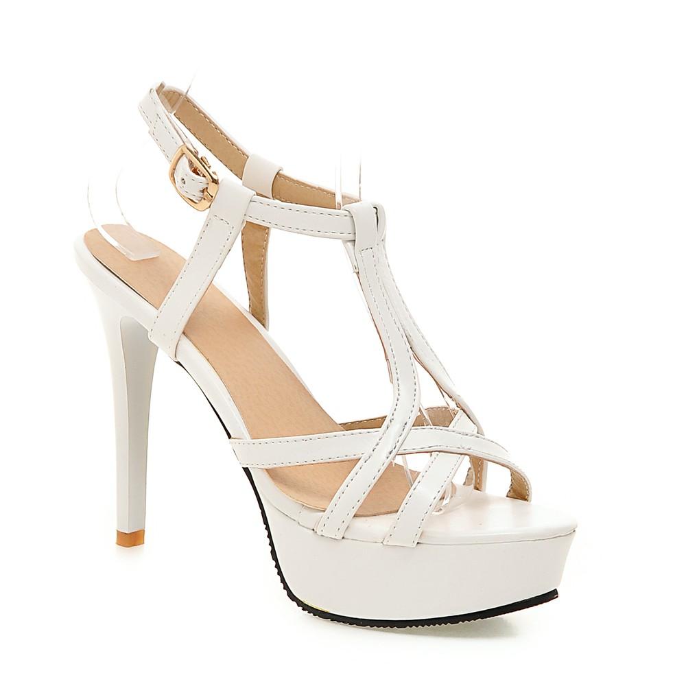 size 35 43 women 39 s high heel sandals gladiator shoes women. Black Bedroom Furniture Sets. Home Design Ideas