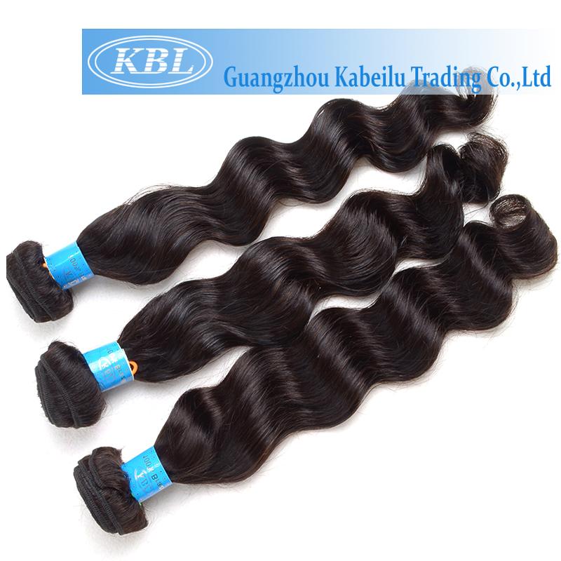 KBL 4A Brazilian Water Wave Virgin Hair Bundle Deals 3 Pcs/lot Cheap 100 Human Hair Brazilian Loose Wave Virgin Hair Extensions