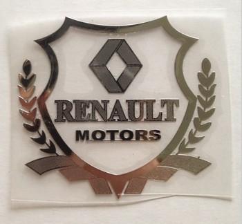 Excellent New car metal Badge case For renault duster megane 2 logan renault clio car emblem