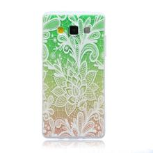 For Samsung A5 Ultrathin TPU Fashion Emboss Painting Cases For Samsung Galaxy A5 Case A500 Cover Soft Silicone Phone Shell !