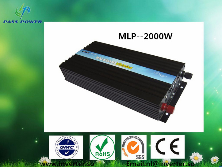 One Year Warranty, CE,ROHS,SGS Approved, 2000W Pure Sine Wave Power Inverter 12V 220V(China (Mainland))