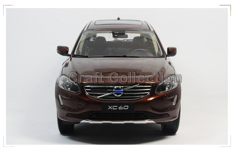 New Coming! Brown 2015 1/18 Volvo XC60 SUV Die-Cast Model Car Luxury Miniature Toys Scale Models<br><br>Aliexpress