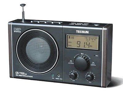 New Tecsun CR-1100 DSP AM/FM Stereo Radio With Built-In Speaker DIGITAL CLOCK(China (Mainland))