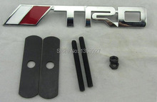 3D Car front grille for TRD Metal Emblem toyota