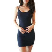 Buy 2016 Women Dress Sleeveless Sexy Woman Summer Dress Backless Vestidos Party Mini Dress Slim Bodycon Bandage Dresses Vestidos for $6.99 in AliExpress store