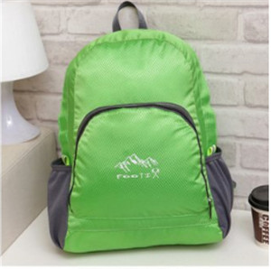 HomeFresh 18*12*6 Inches Outdoor Camping Picnic Trip Collapsible Waterproof Sandproof Nylon Backpack,Lace,Ribbons(China (Mainland))
