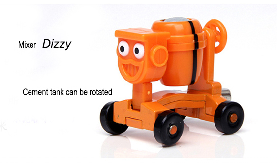 Cheap Sale Bob the Builder toy car Kids Toys Alloy Mixer Dizzy Free Shipping(China (Mainland))