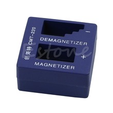 Free Shipping Hot Magnetizer Demagnetizer Magnetic Pick Up Tool For Screwdriver Tips Screw Bit(China (Mainland))
