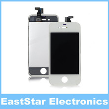 200pcs/lot,LCD Display with White Touch Screen Digitizer for iPhone 4 4G (NO DEAD PIXEL),Quality A+++,Free DHL(China (Mainland))