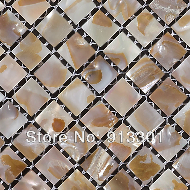 Up to 20% OFF mother of pearl tile backsplash natural white yellow grey shell mosaic for bathroom and shower tile design floors<br><br>Aliexpress