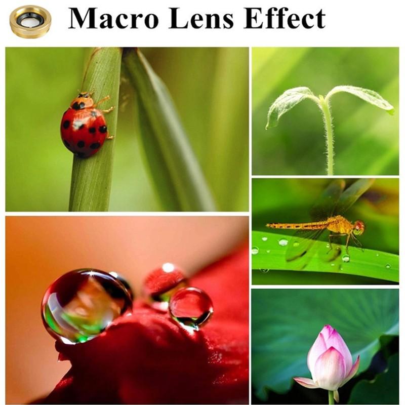 3 In 1 Fish Eye Lens Wide Angle Micro Camera Fisheye Lens Mobile Phone Lens For iPhone Lenses 5 6 5S Xiaomi Smart Phone