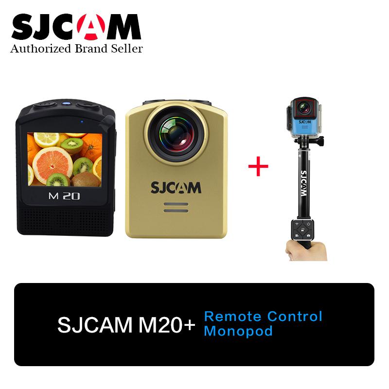 ( Genuine)SJCAM M20 WiFi Gyro Mini Action Camera 2160P NTK96660 16MP Cameras Sports DV with Remote Controller+SJCAM Monopod(China (Mainland))