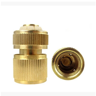 Brass Garden Water Quick Connectors With Water Stop Function Water Connectors Garden Irrigation HF31532(China (Mainland))